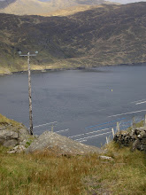 Photo: View of Along Killary Harbour from a mountain pass