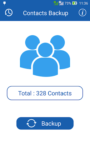 Smart Contacts Backup - (My Contacts Backup) 2.5 screenshots 2