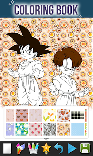 How To Color Dragon DBS Anime (Dragon DBZ games) - náhled