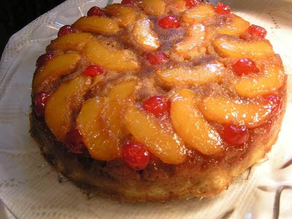 Peach Upside Down Cake - Dee Dee's
