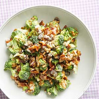 Creamy Broccoli-Bacon Salad