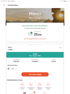 OUI.sncf - Train travel- screenshot thumbnail