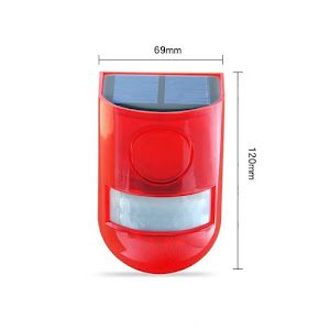 Alarma solara cu senzor de miscare, Andowl Q-A233B
