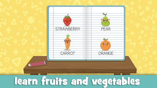 Learn fruits and vegetables - games for kids 1.5.1 screenshots 17