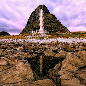 Lighthouse by Rodel Diaz - Landscapes Travel