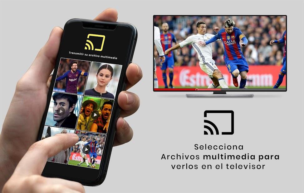 Captura de Pantalla 5 de Control remoto universal de TV para android