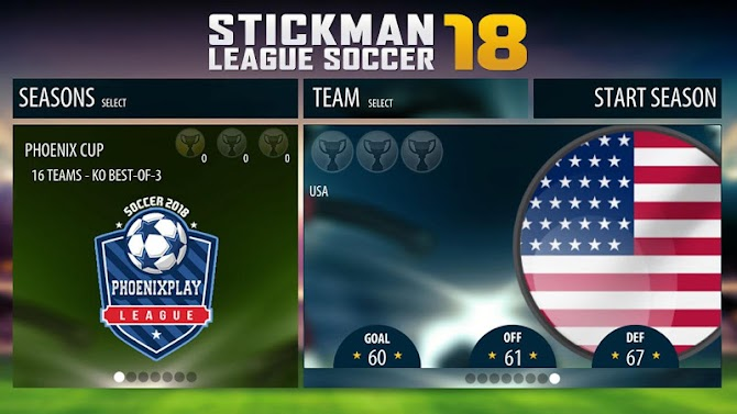 Stickman League Soccer 2018 Android 2