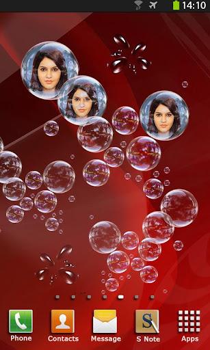 Photo Bubbles Live Wallpaper 8.2 screenshots n 1