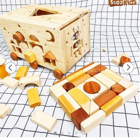 Bộ đồ chơi gỗ an toàn cho trẻ