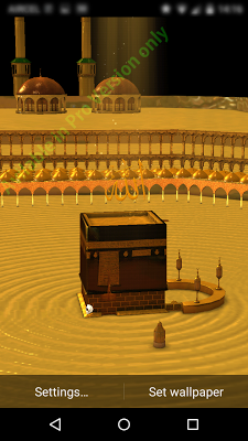 Makkah Kaaba 3D Live WallPaper on Google Play Reviews | Stats