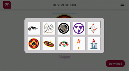 Free Logo Maker - DesignMantic 1.0 screenshot 43395