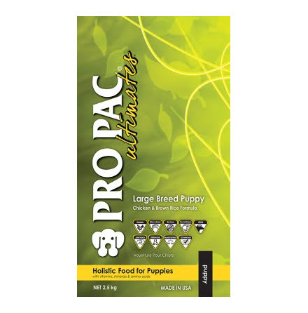 Pro Pac Puppy Large Breed Chicken & Brown Rice Whole 12kg