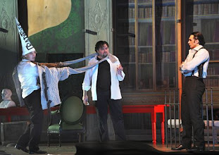 Photo: Wiener Staatsoper: LA CLEMENZA DI TITO - Inszenierung Jürgen Flimm. Premiere 17.5.2012. Elina Garanca, Michael Schade, Adam Plachetka.  Foto: Barbara Zeininger