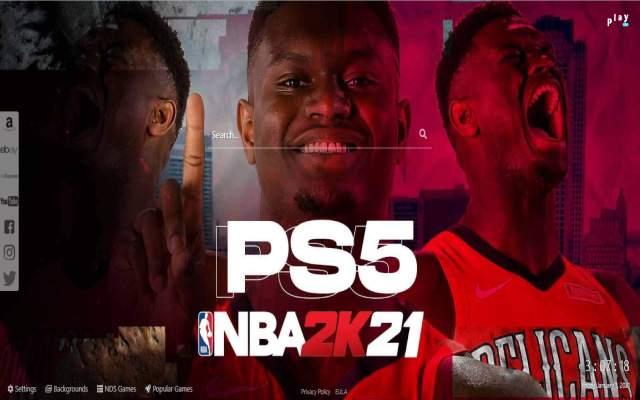 NBA 2K21 Game HD Wallpapers & New Tab