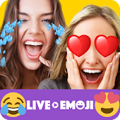 Live Emoji Face Swap Emoticons