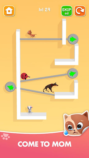 Kitten Rescue - Pin Pull apkpoly screenshots 7