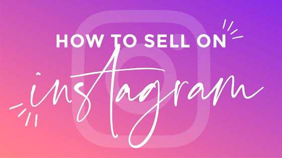 How to Sell on Instagram - YouTube Thumbnail Template