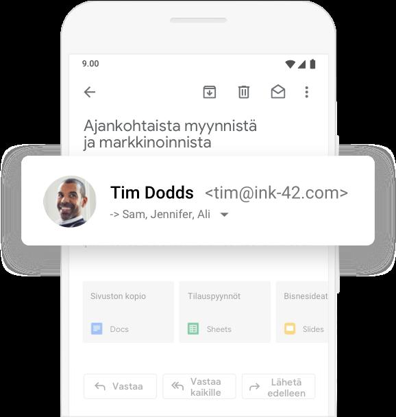 Gmail yrityksille