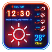 Tải Weather App Neon Theme 2018 APK