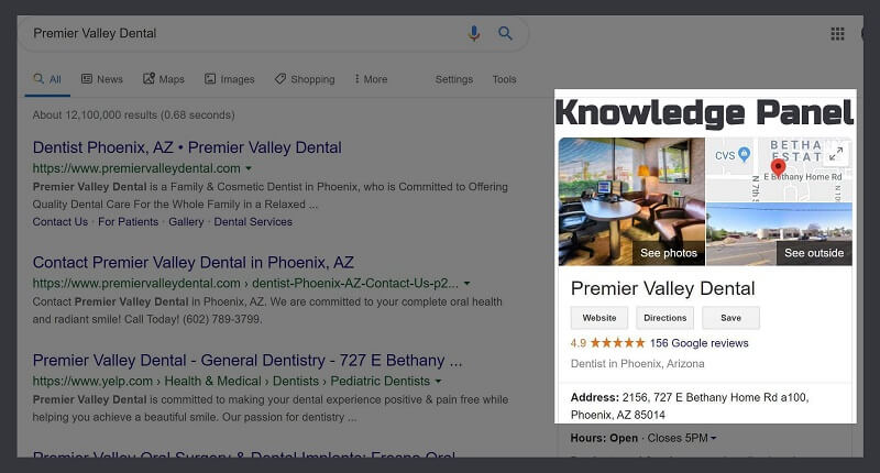 What is Google My Business-Knowledge Panel