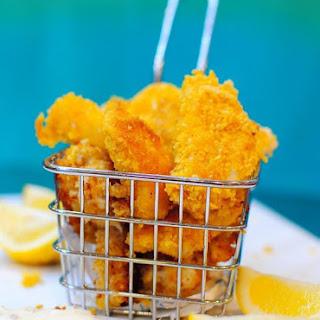 Cornflake Crumbed Fish Bites.