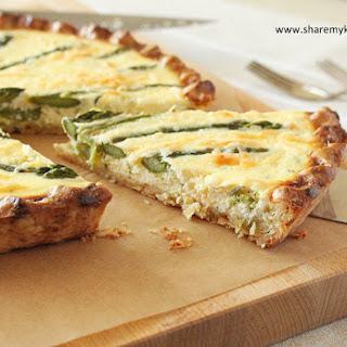 Asparagus and Ricotta Tart Recipe