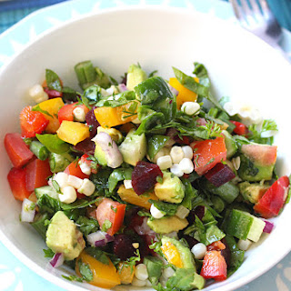 Farmers Market Chopped Summer Salad