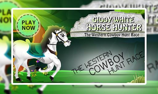 Giddy White Horse Hunter +