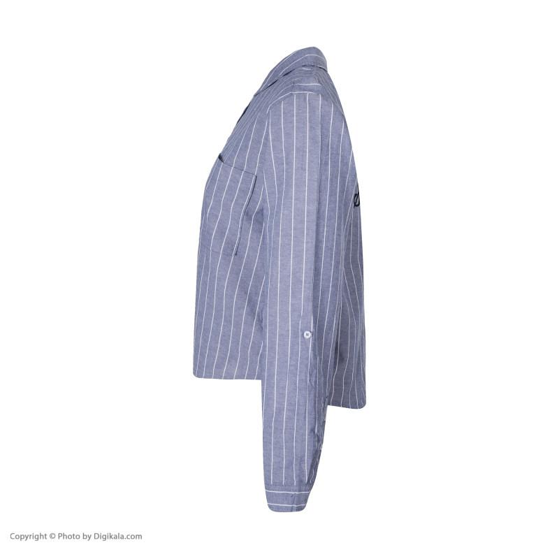 شومیز زنانه کالینز مدل CL1027690-BLUE