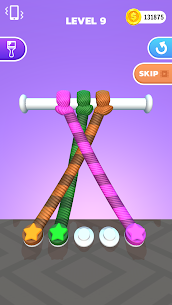 Tangle Master 3D Mod APK (Unlimited Coins/No Ads) for Android 3