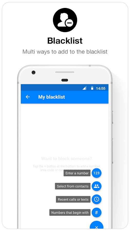 Caller ID  & Call Blocker Free- screenshot