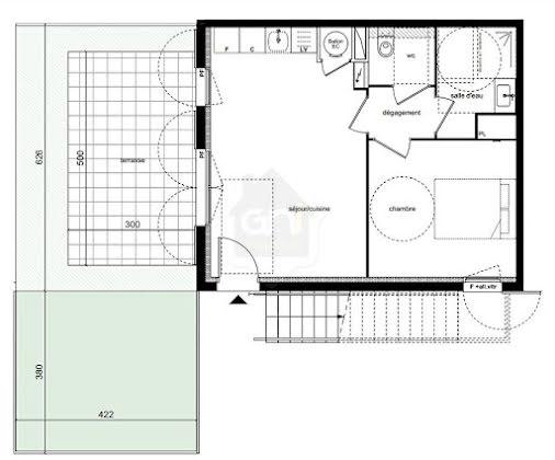 Vente appartement 2 pièces 40,35 m2