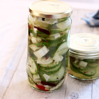 Fennel and Cucumber Pickles