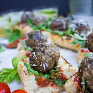 American Lamb Meatball Subs On The Grill.