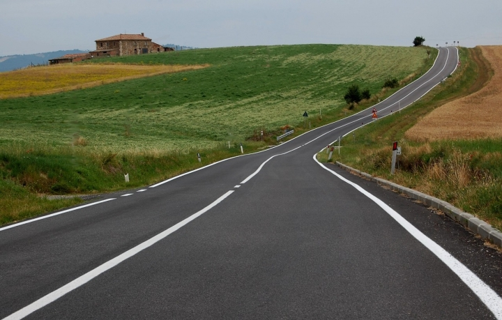 La via Cassia in val d'Orcia di fabri64