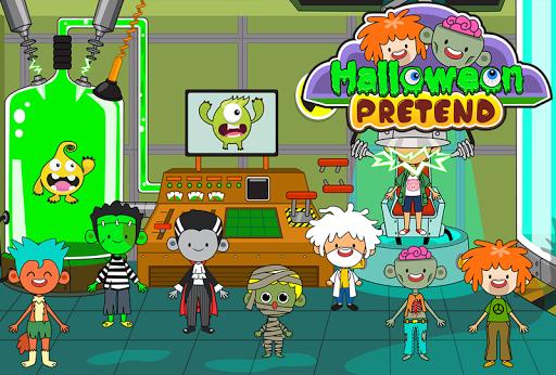 My Pretend Halloween - Trick or Treat Friends FREE 1.1 screenshots 3