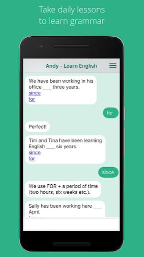 Andy - English Speaking Bot screenshot 2