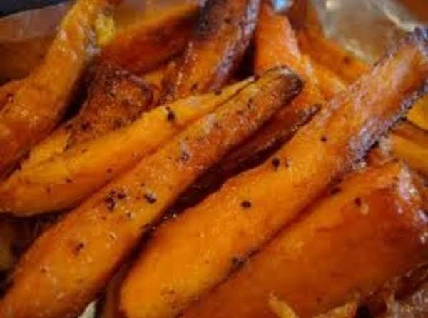 Honey-ginger Sweet Potato Wedges Recipe