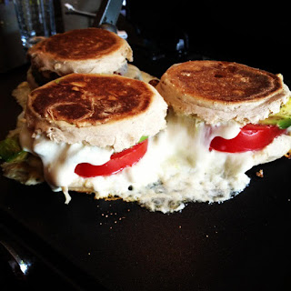Avocado, Tomato & Mozzarella Grilled Cheese