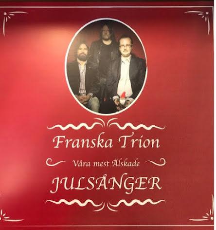 LP Franska Trion-Våra Mest Älskade  ltd 150 ex Vit Vinyl