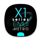 X1S Metro Cyan EMUI 5 Theme (Black) Android APK Download Free By Absoft Studio
