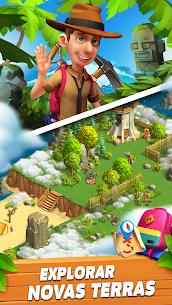 Funky Bay – Fazendas e Aventura Apk Mod (Dinheiro Infinito) 3