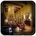 Living Room LAyout Corner Fireplace icon