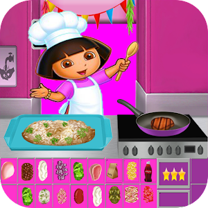 Dora Cooking Dinner For PC (Windows & MAC)
