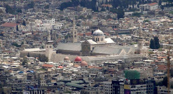 A Grande Mesquita dos Omeyas