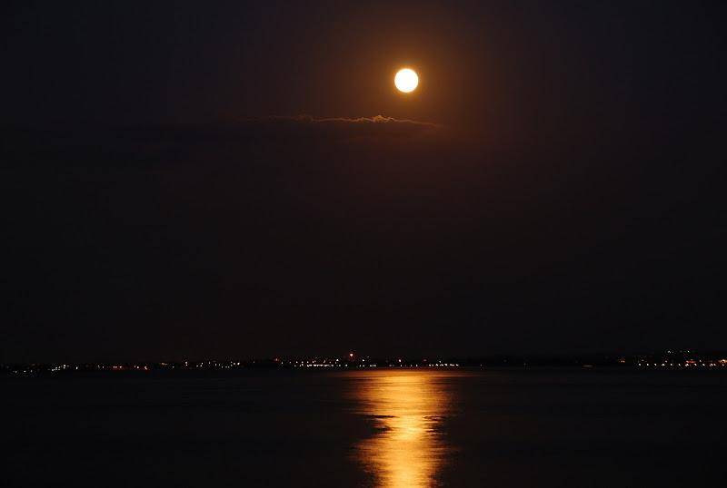 Notturno sul lago di Ezio Franceschini