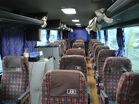 九州産交バス「フェニックス号」「なんぷう号」 ・417 車内