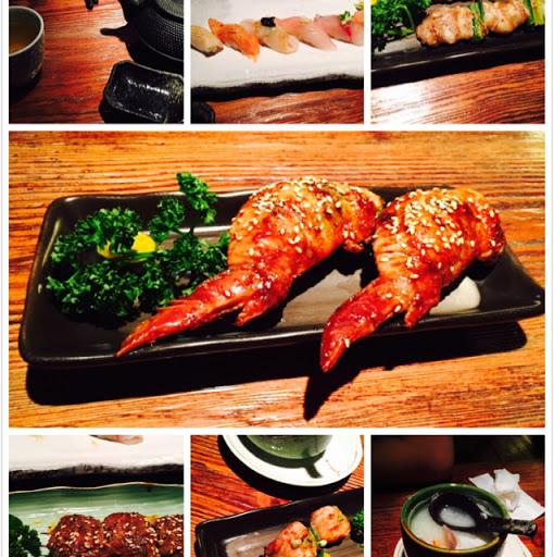 超推薦辣雞翅和生魚片!好吃!