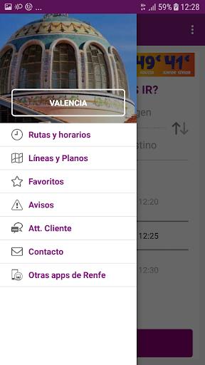 Renfe Cercanias screenshot 5