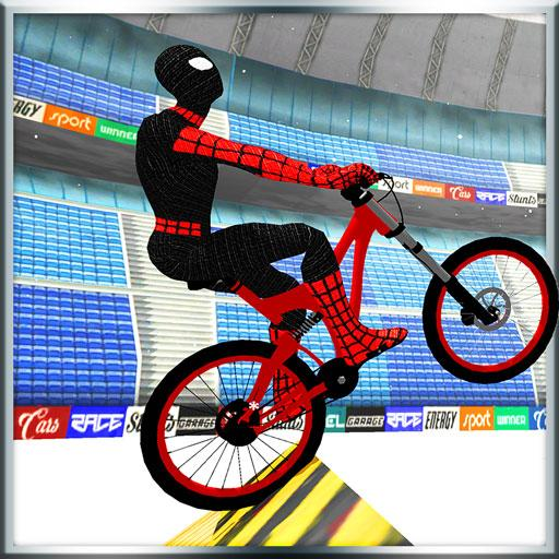 Superhero BMX Bicycle Stunts Track Android APK Download Free By MobilePlus